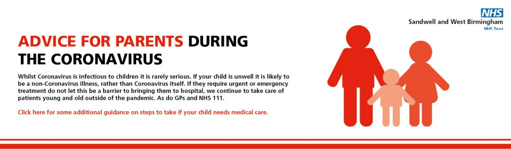 Coronavirus - Advice For Parents